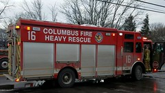 Heavy Rescue 16 (Central Ohio Emergency Response) Tags: columbus ohio fire division truck heavy rescue squad