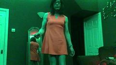 January 2018 (Girly Emily) Tags: crossdresser cd tv tvchix tranny trans transvestite transsexual tgirl tgirls convincing feminine girly cute pretty sexy transgender boytogirl mtf maletofemale xdresser gurl glasses dress tights hose hosiery indoor leds colour