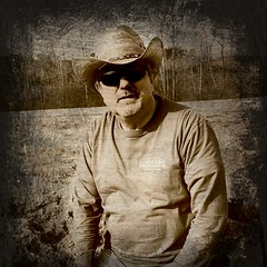 the j.01... (maj488/mike) Tags: 2017 convention fiddlers portrait sepia hat cowboy overlay