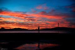 LIGHTS AND SHADOW (sebcleyderman) Tags: sony ilce7 35mm sunset cannes vanguard digital blending sky esterel seascape
