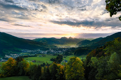 Morning light (Rico the noob) Tags: dof d850 landscape sunset 20mm outlook mountains city outdoor lake clouds sun rigi 2017 tree schweiz published water urban sky trees switzerland 20mmf18 grass nature