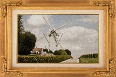 Oil Painting V (IBU-TT.1) Tags: monyve oilpainting manipulation photo windmill windmolen