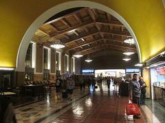 Union Station (nohojim) Tags: night train station union los angeles
