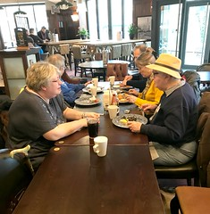 We invaded Weatherspoons . (AndrewHA's) Tags: bishopsstortford hertfordshire weatherspoons breakfast people pepsi coffee food