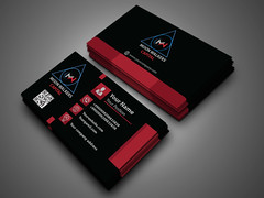 red .. (sam360_design) Tags: abstract art blackandwhite blue bluebusiness businesscard card clean color colorful cool corporate creative divergent elegant minimal new personal printtemplate professional proposal red shape studio stylish template visitingcard