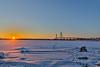 February evening (Arttu Uusitalo) Tags: sunset winter evening replot bridge ostrobothnia landscape finland february seaside seashore icy canon eos 5d mkiv 24105l light