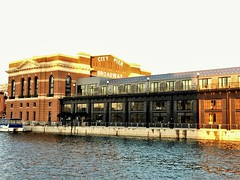 Fells Point ~ Sagamore Pendry Hotel (karma (Karen)) Tags: baltimore maryland fellspoint citypier sagamorependryhotel hotels windows hww harbors waterfront nrhp iphone