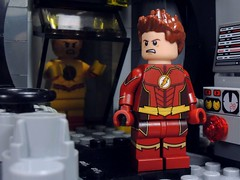 The One Thing You Can Not Stop (-Metarix-) Tags: lego super hero minifig flash reverse barry allen eobard thawne cw show tv comics comic dc speedster star labs