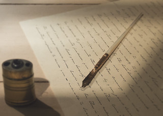 ~... so what harm can there be to write to each other?