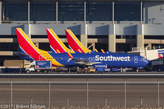 Rare triple tailed Southwest Boeing 737 (rob-the-org) Tags: exif:focallength=300mm exif:aperture=ƒ80 exif:lens=ef70300mmf456isusm exif:model=canoneos60d camera:make=canon exif:isospeed=100 camera:model=canoneos60d exif:make=canon kphx phx skyharborinternational phoenixaz boeing 737 southwestairlines n8653a aircraftalignment multipletails f80 300mm 1250sec iso100 cropped noflash topjanuary2018