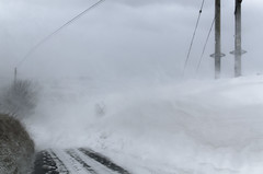 Woodplumpton Road windy (swindy1) Tags: snow snowstorm blizzard snowdrift drift drifting burnley crown point lancashire england storm ice winter wintry snowing stormy road blocked windy gale emma uk deep