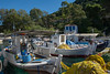 Polis Bay (hippyczich) Tags: harbour polisbay ithaca trees boats