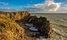 Crazy rocks (Peter Leigh50) Tags: sea seascape shadows shore wave landscape dorset cliff sky clouds rocks fujifilm xt10 fuji