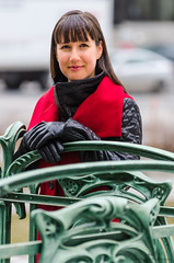 Mariane-04 (TheEvilDonut Photography) Tags: woman portrait outdoors winter montreal beautiful stunning feminine longhair thin jacket