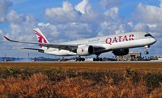 Qatar A350 Miami