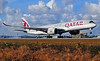 Qatar A350 Miami (Infinity & Beyond Photography) Tags: qatar airways airbus a350 aircraft airplane airliner landing miami airport mia kmia planes a7ald
