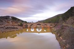 Puente de  Sotiel (Fernando SN) Tags: puente atardecer sotiel canon 6d sunset landscape paisaje agua calañas huelva larga exposición long exposure 1740 odiel