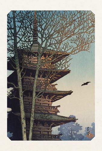 21-Carte postale // 10x15cm // Temple