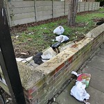 Frequent Dumping location - the small green in Mitchley Road, Tottenham # 1 thumbnail