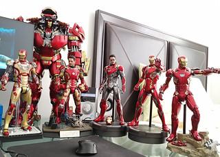 Iron Man Mark 42, 43, 44, 45, 46, 47