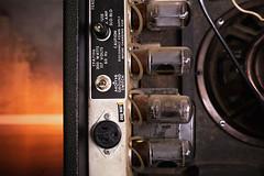 Fender Super Six Guitar Amplifier Power Tubes (paulinaksalmas) Tags: vintage amplifier vacuum tubes 1970s electronics guitar amp dark moody