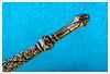 Stiletto - HMM (John Penberthy LRPS) Tags: 105mm d750 johnpenberthy nikon blue closeup detail embossed macro macromondays needle stiletto