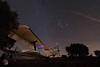 Vuelo nocturno - Night flight (juan_maynar) Tags: avión antonov flight night nightlight nocturnas nikon paintlight nightphotography paisajenocturno maynar