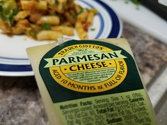 """""""15 Minutes Before Trader Joes Closes Pasta"""" (Comic Con Fit) Tags: mysteryboxchallenge cookingchallenge cooking cupoteasdcc anenglishmaninsandiego friendsofcomiccon comicconfit comicconfitleonardsultana alyssafranks aaronnabus traderjoes brusselssprouts chicken chickenthighs bacon leeks garlic soysauce pasta brownricepasta marinarasauce parmesancheese parmesan sundriedtomatoes oranges lemons"""