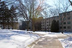Fricker Hall (UWW University Housing) Tags: uww uwwhitewater uwwhousing winterbreak lifestyle snowfall