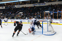 "Kansas City Mavericks vs. Toledo Walleye, January 21, 2018, Silverstein Eye Centers Arena, Independence, Missouri.  Photo: © John Howe / Howe Creative Photography, all rights reserved 2018. • <a style=""font-size:0.8em;"" href=""http://www.flickr.com/photos/134016632@N02/39839871791/"" target=""_blank"">View on Flickr</a>"