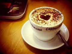 """What's more perfect than a """"Buongiorno""""?! (Mam0369) Tags: cafe italie italia cappuccino caffe latte goodmorning buongiorno bonjour"""