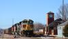 1/5 NS 1074(Lackawanna) Leads NB Empty Coal Drag Lenexa, KS 1-24-18 (KansasScanner) Tags: lenexa kansas bnsf train railroad ns ns1074 lackawanna