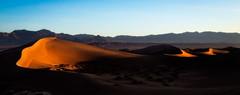 Mesquite Dunes at Sunrise, Death Valley, CA (Trent9701) Tags: california deathvalley hdr mesquitedunes photomatix trentcooper vacation desert nationalparks travel