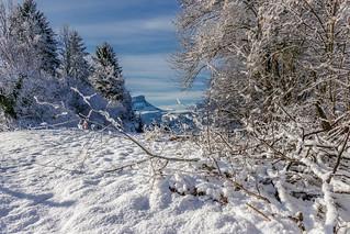 Mt Granier depuis Curienne - Savoie