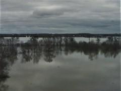 Flooded fields in northern France (TeaMeister) Tags: europe train travel interrail seat61 cities rail spain espana malaga andalusia renfe sncf france ave tgv europeanunion journey paris london eurostar createyourownstory floods