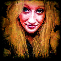 face of a relly (Bobinstow2010) Tags: arty colour color topaz photoshop