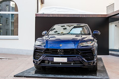 Lamborghini Urus (Nico K. Photography) Tags: lamborghini urus suv new rare blue nicokphotography supercars switzerland stmoritz
