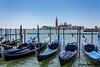 San Giorgio Maggiore on a sunny day (Stephan Neven) Tags: venezia venice sangiorgiomaggiore gondola waterfront italia italy basin piazza marco sanmarco city cityscape isola