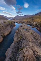 In the arms of a river (Sizun Eye) Tags: eastfjords iceland scandinavia europe rocks landscape view seyðisfjörður valley fjord reflections sizuneye nikond750 d750 nikkor1424mmf28 1424mm nikkon river leefilters
