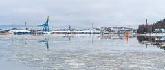 Turku Harbor Panorama (@Tuomo) Tags: finland turku ruissalo harbor winter panorama landscape seascape nordic ice sea beautiful sony a9 702004 sel70200g cityscape