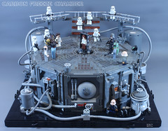 Carbon Freeze Chamber (I Scream Clone) Tags: lego carbonite carbon freeze bespin hansolo chewbacca empirestrikesback starwars