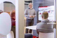 Interview with Malte (RIEDEL Communications) Tags: riedel riedelcommunications communications inside interview chairman workers council communication employee management workplace safety job task meeting worker events betriebsrat vorsitzender