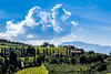Clouds and Birds (*Capture the Moment*) Tags: 2015 abteikirche clouds farbdominanz himmel monestery sant´antimo sky toskana tuscany wolken blau blue