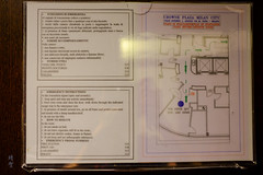 Floor layout (A. Wee) Tags: milano lombardia italy it milan 米兰 意大利 crowneplaza hotel 酒店 皇冠假日