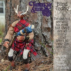 Photo (Thunder Jay Studio) Tags: ifttt instagram thunderjaystudio so this is biggest sculpt date he stands about 18 inches tall with knees bent for sale and i would love talk you him leave comment or private message me details fantasy fantasyart artdoll artforsale orlandoartist deer antlers kilt myth magic wisdom