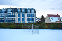 But urbain - part. 15 (Pixdar) Tags: franconville valdoise but goal snow neige