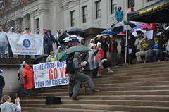 WV School Worker Action Rally (rmcgervey) Tags: wvsspawvsspawest virginia school service personnel associationwv state capital wv capitol charleston aft wvea teachers 2018 rally action day