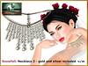 Bliensen - Snowfall - necklace 2 (Plurabelle Laszlo of Bliensen + MaiTai) Tags: bridal wedding trunkshow bliensen pearls vintage jewelry marriage formal hairaccessories shoes highheels pumps maitreya slink belleza