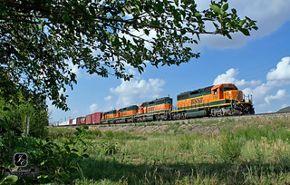 A Quartet of SD40-2's