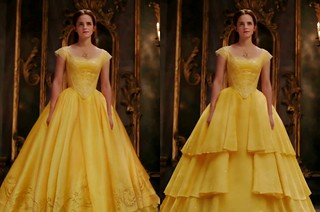 The tale of two dresses